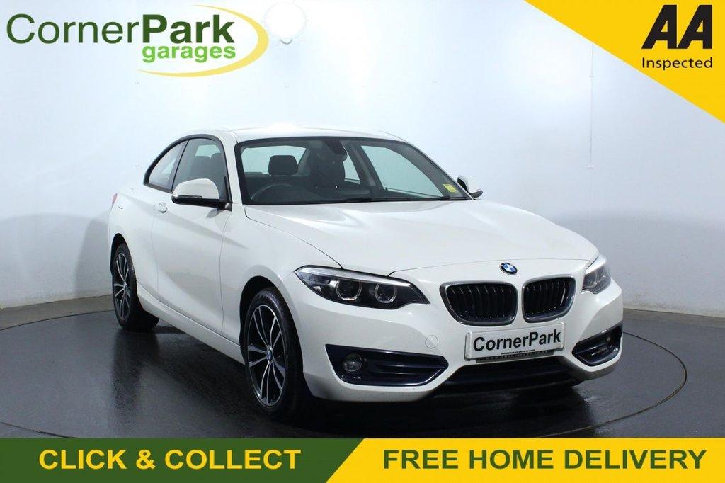 USED 2018 18 BMW 2 SERIES 2.0 218D SPORT 2d 148 BHP