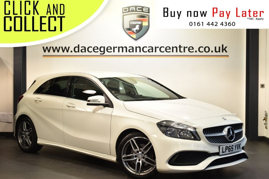 USED 2016 65 MERCEDES-BENZ A-CLASS 1.5 A 180 D AMG LINE 5DR 107 BHP
