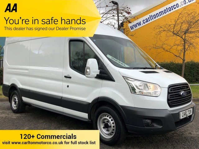 2016 16 FORD TRANSIT 350 TDCi 125 L3 H3 [ MOBILE WORKSHOP ] LWB HI/ROOF P/V