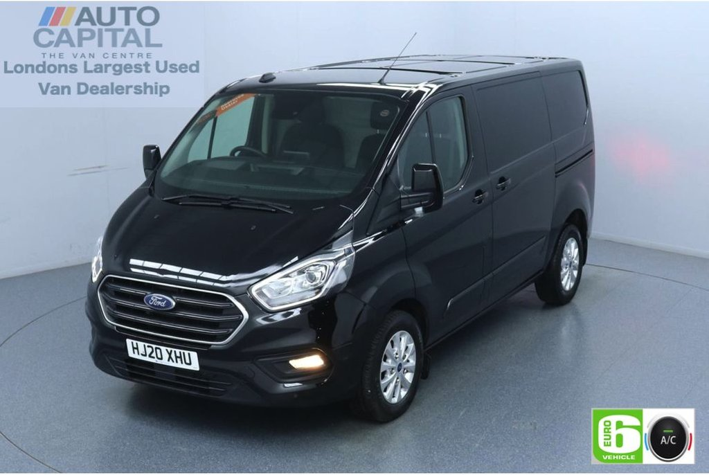 USED 2020 20 FORD TRANSIT CUSTOM 2.0 300 Limited EcoBlue 130 BHP L1 H1 Euro 6 Low Emission Eco Mode   Auto Start-Stop   Front and rear parking distance sensors