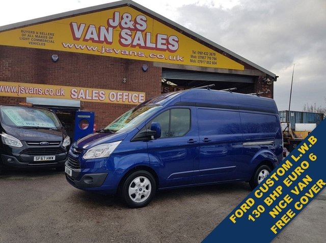 USED 2016 16 FORD TRANSIT CUSTOM 2.0 290 LIMITED 130 BHP L.W.B HI ROOF VAN BIG STOCK EURO 5/6 OVER VANS OVER 100 ON SITE