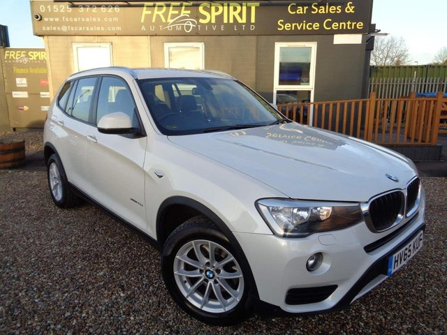 USED 2015 65 BMW X3 2.0 20d SE Auto xDrive 5dr 1 Owner, Full BMW History, Nav