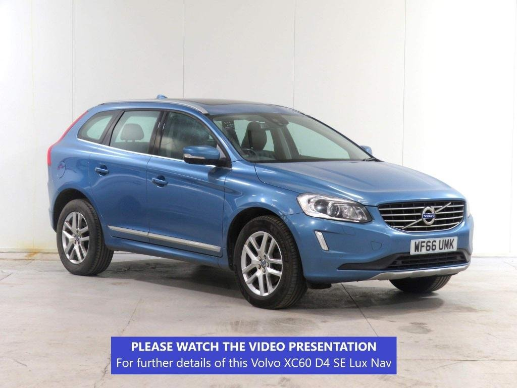 USED 2016 66 VOLVO XC60 2.0 D4 SE Lux Nav Geartronic (s/s) 5dr PANORAMIC/WINTER+FAMILY PACKS