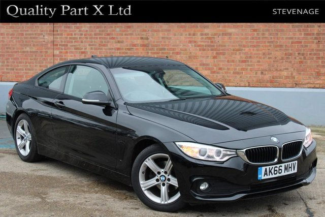 USED 2016 66 BMW 4 SERIES 2.0 418d SE Auto 2dr BLUETOOTH, AUX, DAB, ULEZ