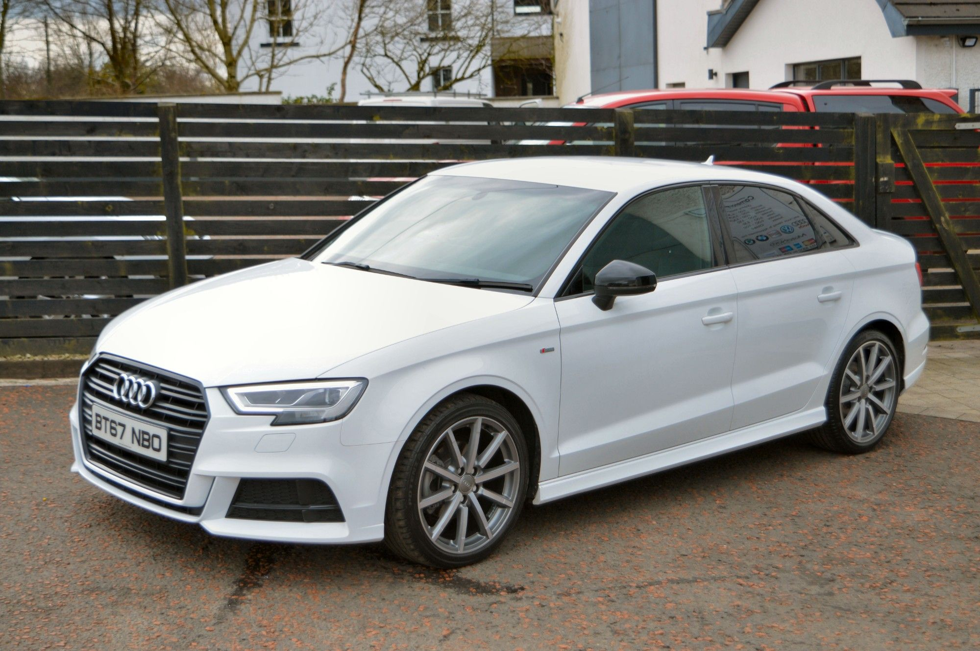 USED 2017 67 AUDI A3 2.0 TDI BLACK EDITION 4d 148 BHP 6 MONTHS RAC WARRANTY FREE + 12 MONTHS ROAD SIDE RECOVERY!