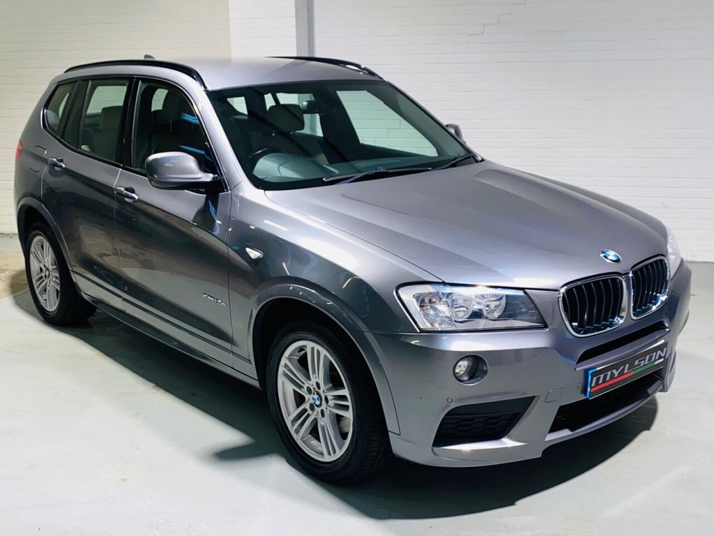 USED 2012 12 BMW X3 2.0 XDRIVE20D M SPORT 5d 181 BHP Reverse Camera, Heated Seats, Full Leather Interior