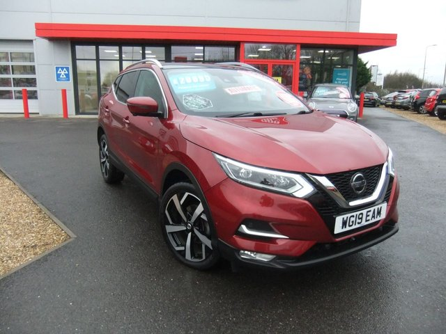 USED 2019 19 NISSAN QASHQAI 1.5 DCI TEKNA DCT 5d 114 BHP Huge Specification