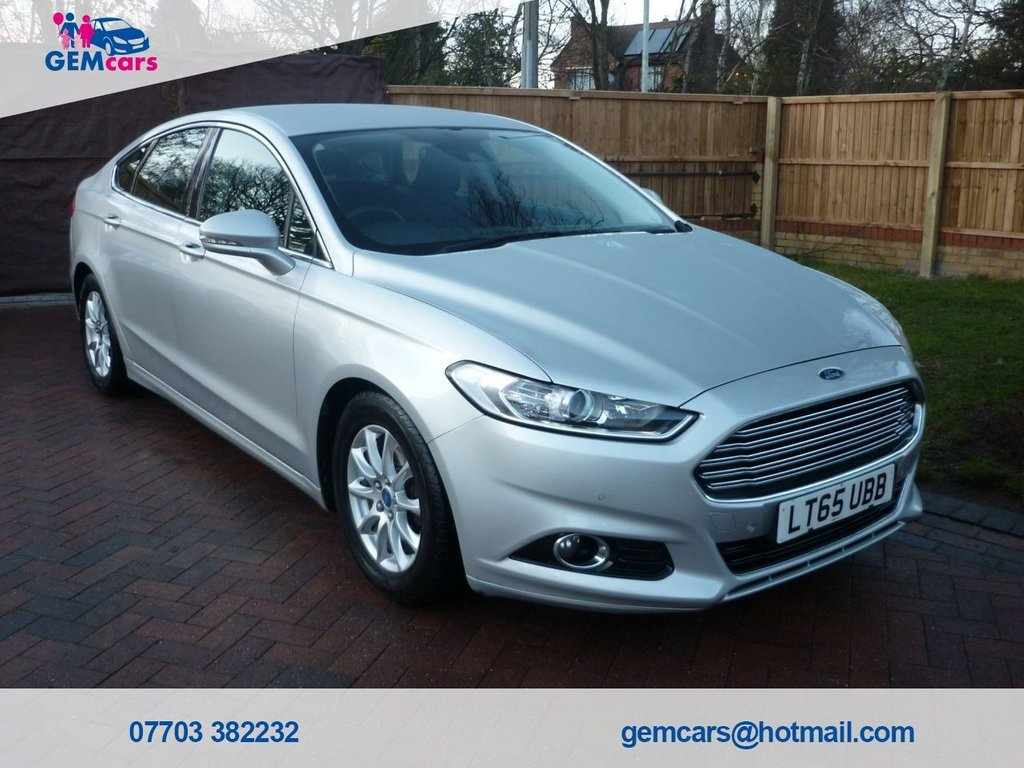 USED 2015 65 FORD MONDEO 1.5 TITANIUM ECONETIC TDCI 5d 114 BHP GO TO OUR WEBSITE TO WATCH A FULL WALKROUND VIDEO