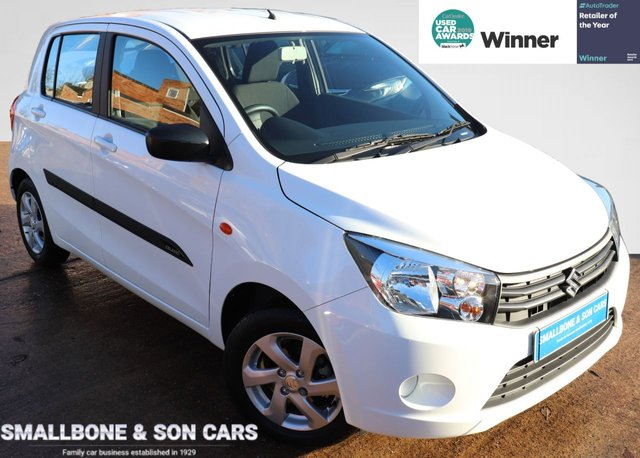 USED 2017 67 SUZUKI CELERIO 1.0 CITY 5d 67 BHP * BUY ONLINE * FREE NATIONWIDE DELIVERY *