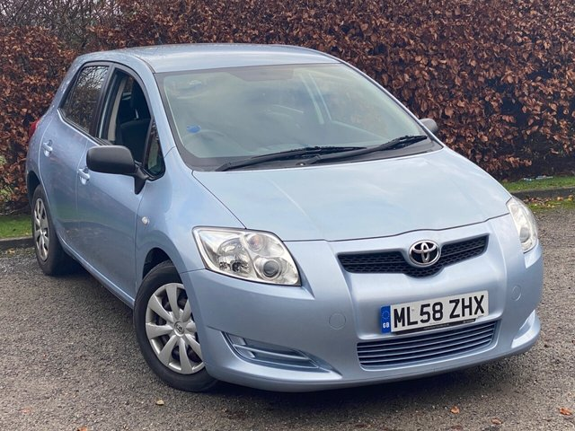 USED 2008 58 TOYOTA AURIS 1.4 T2 D-4D 5d 89 BHP AIR CONDITIONING / ELECTRIC WINDOWS