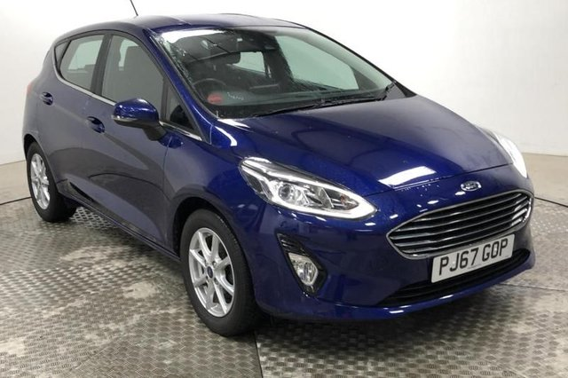 2017 67 FORD FIESTA 1.0 ZETEC ECOBOOST (100PS) NEW MODEL