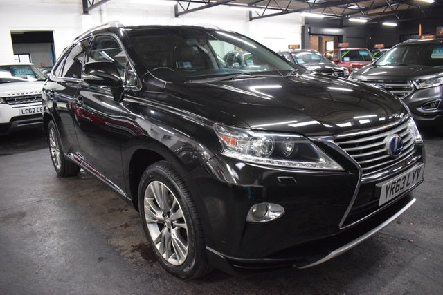 USED 2013 63 LEXUS RX 3.5 450H LUXURY 5d 295 BHP STUNNING LOW MILEAGE EXAMPLE - ULEZ COMPLIANT - 4X4 - LEATHER - NAV - HEATED SEATS - 50+ MPG - LOW TAX