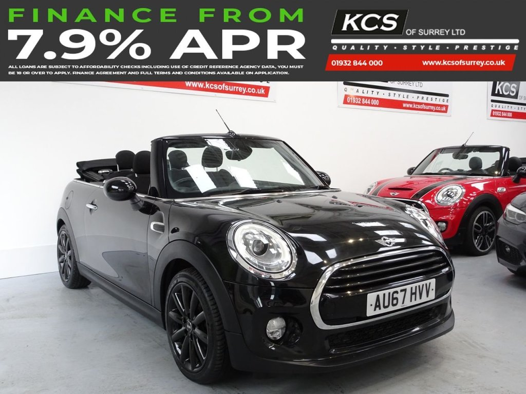 USED 2017 67 MINI CONVERTIBLE 1.5 COOPER 2d 134 BHP CHILI PACK - HEATED SEATS