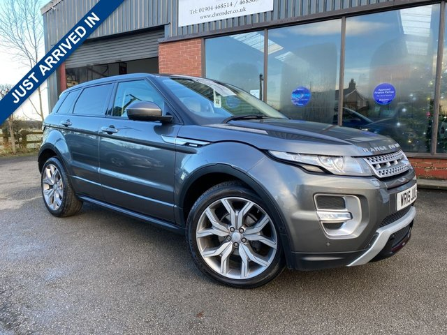 USED 2015 15 LAND ROVER RANGE ROVER EVOQUE 2.2 SD4 AUTOBIOGRAPHY 5d 190 BHP CLICK & COLLECT ONLINE AT C H RENDER.