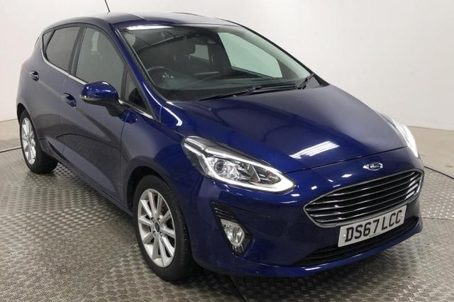 2017 67 FORD FIESTA 1.0 TITANIUM ECOBOOST (100PS) NEW MODEL