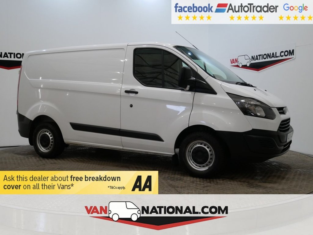 USED 2017 17 FORD TRANSIT CUSTOM 2.0 270 LR P/V 105 BHP L1 H1 *EURO 6* * ONE OWNER * EURO 6 * REAR SENSORS * ZERO DEPOSIT FINANCE AVAILABLE *