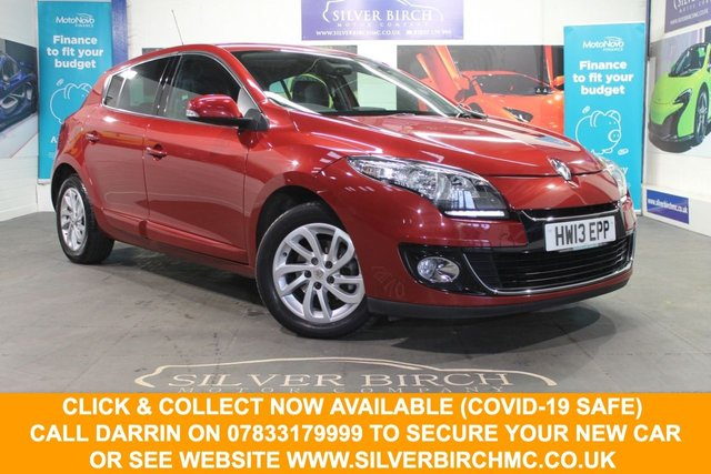 USED 2013 RENAULT MEGANE 1.5 dCi 110 Dynamique TomTom 5dr EDC Nav, Low deposit Finance