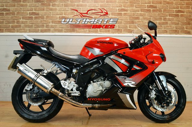 USED 2011 11 HYOSUNG GT 650 R  - FREE NATIONWIDE DELIVERY