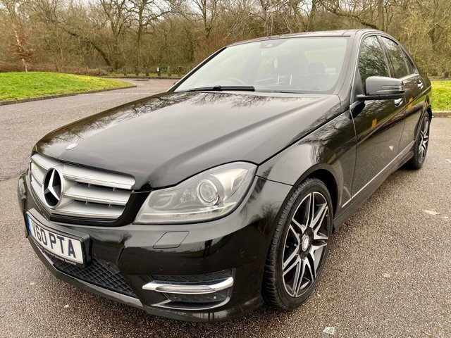 2014 V MERCEDES-BENZ C-CLASS 3.0 C350 CDI BLUEEFFICIENCY AMG SPORT PLUS 4d 262 BHP