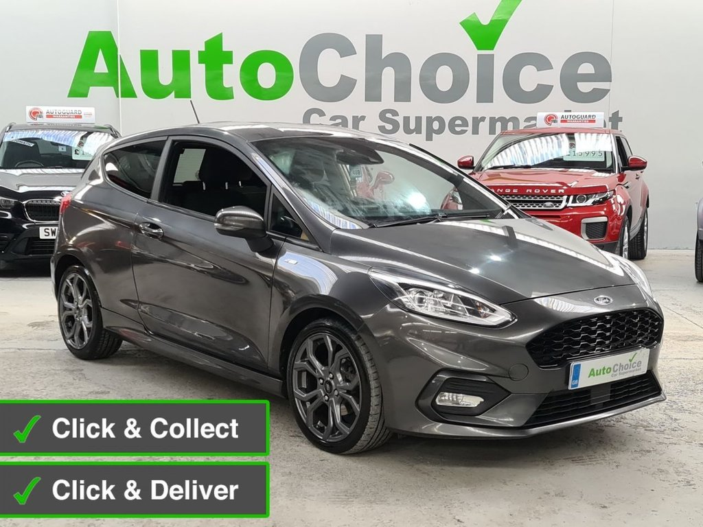 USED 2017 67 FORD FIESTA 1.0 ST-LINE 3d 124 BHP