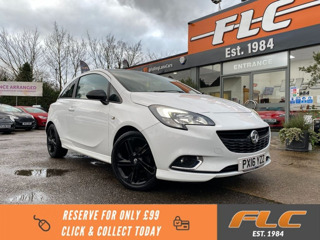 USED 2016 16 VAUXHALL CORSA 1.4 LIMITED EDITION 3d 89 BHP