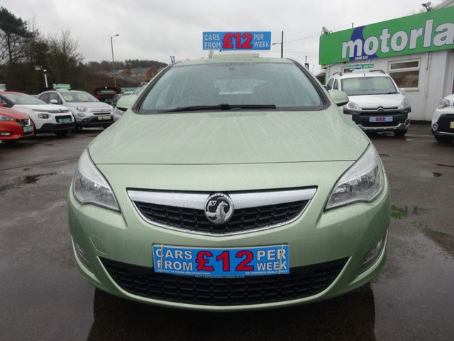 USED 2011 11 VAUXHALL ASTRA 1.6 EXCLUSIV 5d 113 BHP **  JUST ARRIVED ** CALL 01543 877320**