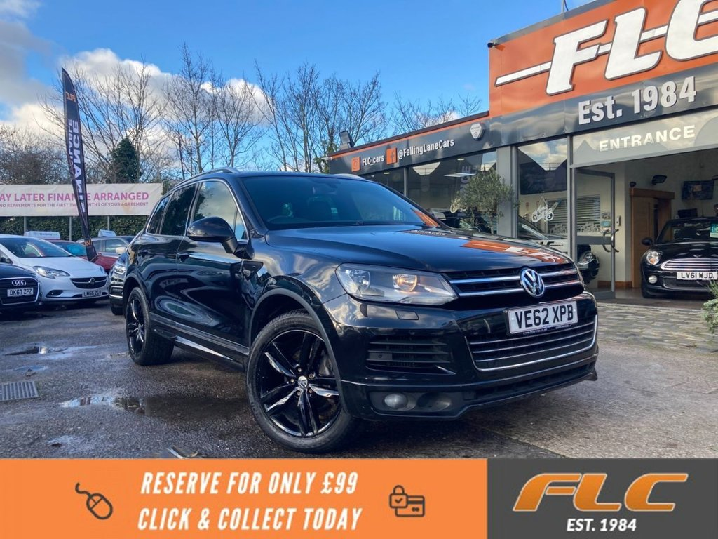 USED 2013 62 VOLKSWAGEN TOUAREG 3.0 V6 ALTITUDE TDI BLUEMOTION TECHNOLOGY 5d 202 BHP