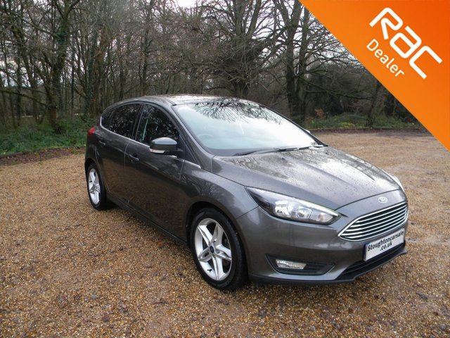 USED 2018 68 FORD FOCUS 1.5 ZETEC EDITION TDCI 5d 118 BHP BY APPOINTMENT ONLY - Sat Nav, Alloy Wheels, Bluetooth, Cruise Control, DAB, Air Con, Rear Parking Sensors