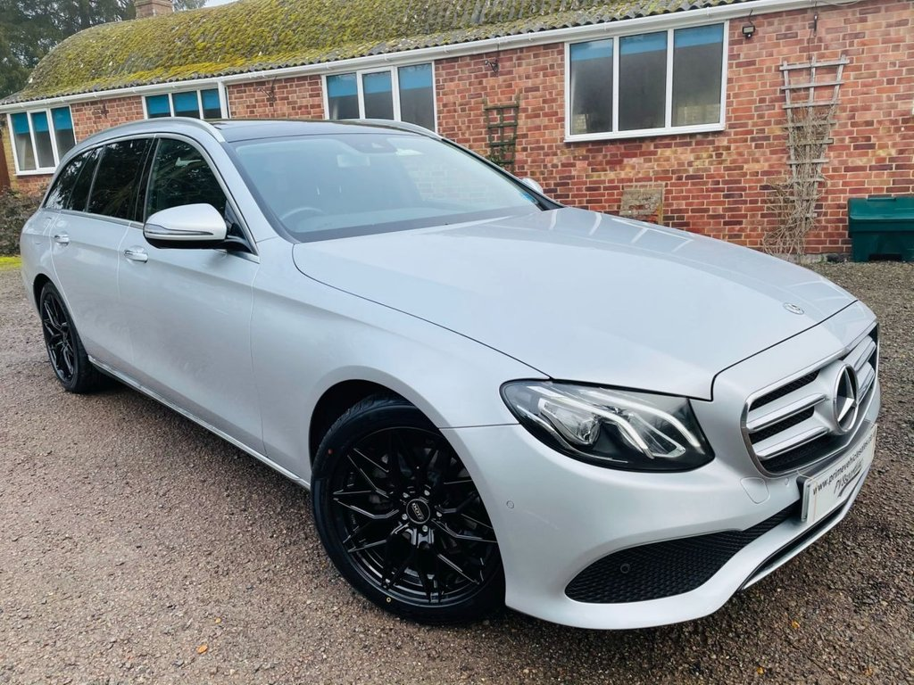 USED 2017 17 MERCEDES-BENZ E-CLASS 2.0 E 220 D SE Premium Panoramic Roof 5dr