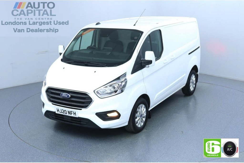 USED 2020 20 FORD TRANSIT CUSTOM 2.0 300 Limited EcoBlue 130 BHP L1 H1 Euro 6 Low Emission Eco Mode | Auto Start-Stop | Front and rear parking distance sensors