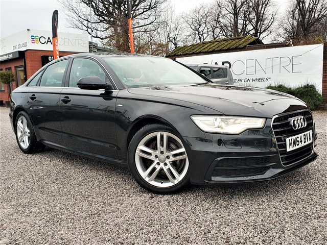 USED 2014 64 AUDI A6 2.0 TDI ULTRA S LINE 4d 188 BHP 1 PREVIOUS OWNER +FULL SERVICE