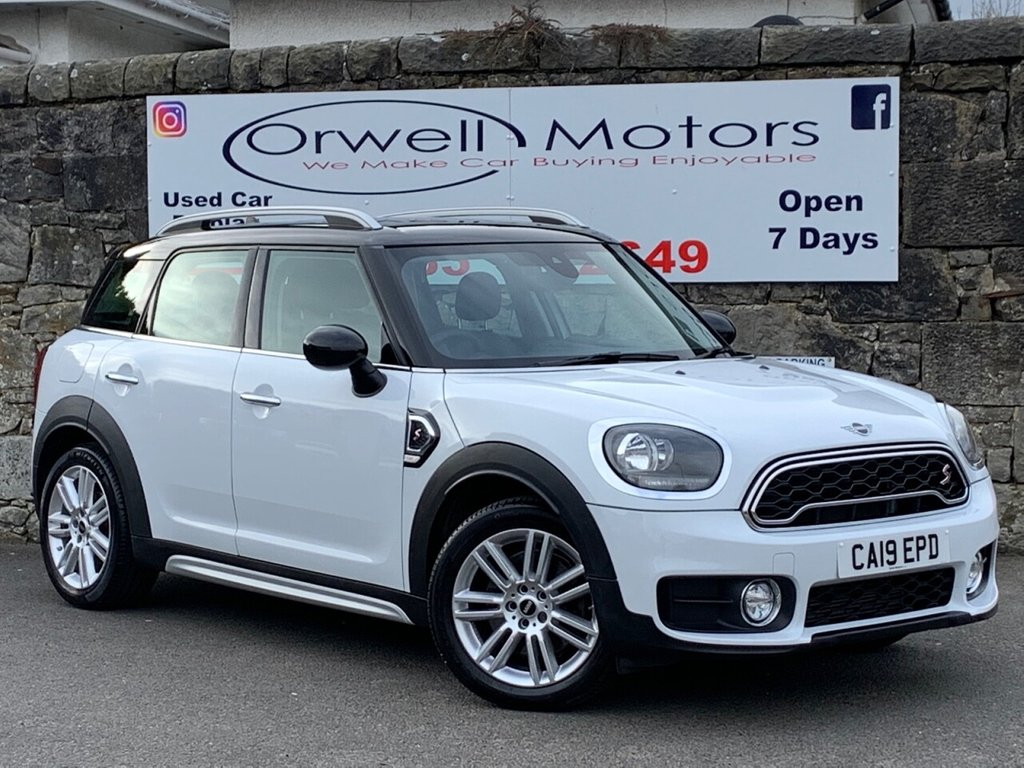 USED 2019 19 MINI COUNTRYMAN 2.0 COOPER S EXCLUSIVE 5d 190 BHP 1 OWNER+FULL MINI SERVCIE HISTORY+SATELLITE NAVIGATION+DAB RADIO+BLUETOOTH+BALANCE OF MANUFACTURERS WARRANTY TILL MARCH 2022