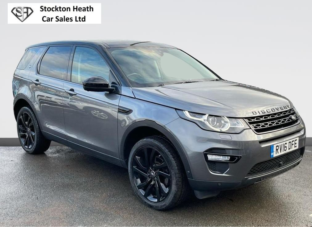 USED 2016 16 LAND ROVER DISCOVERY SPORT 2.0 TD4 HSE BLACK 5d 180 BHP