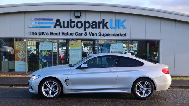 USED 2015 65 BMW 4 SERIES 2.0 420D M SPORT 2d 188 BHP . LOW DEPOSIT OR NO DEPOSIT FINANCE AVAILABLE . COMES USABILITY INSPECTED WITH 30 DAYS USABILITY WARRANTY + LOW COST 12 MONTHS ESSENTIALS WARRANTY AVAILABLE FROM ONLY £199 (VANS AND 4X4 £299) DETAILS ON REQUEST. ALWAYS DRIVING DOWN PRICES . BUY WITH CONFIDENCE . OVER 1000 GENUINE GREAT REVIEWS OVER ALL PLATFORMS FROM GOOD HONEST CUSTOMERS YOU CAN TRUST .