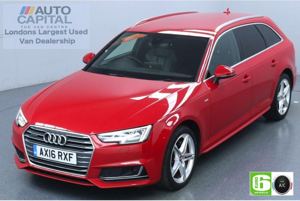 USED 2016 16 AUDI A4 2.0 Avant TDI Quattro S Line 190 Bhp Euro 6 Low Emission Auto | Sat Nav | Leather seats | Wireless induction charger