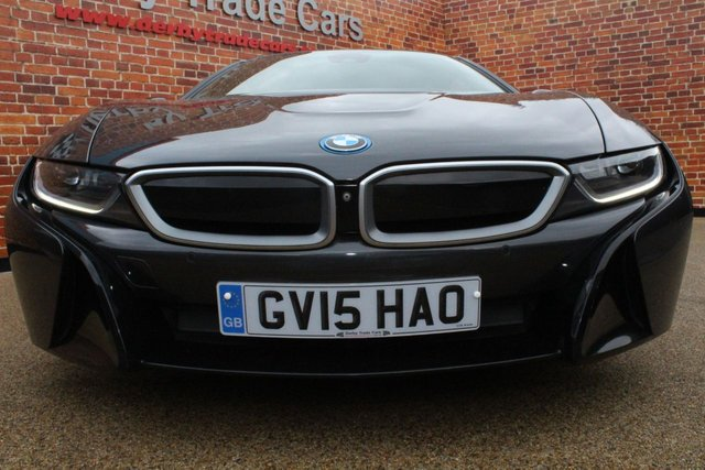 BMW I8 at Derby Trade Cars