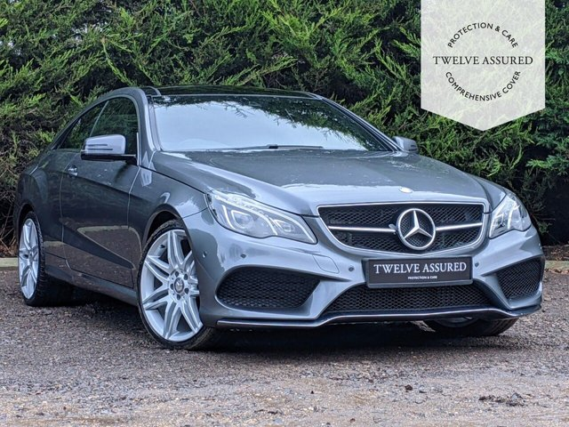 USED 2016 66 MERCEDES-BENZ E-CLASS 3.0 E 350 D AMG LINE EDITION PREMIUM 2d AUTO 255 BHP (1 OWNER, MERCEDES HISTORY, PAN ROOF, CARPLAY)