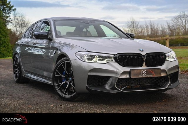 USED 2018 68 BMW M5 4.4i V8 Competition Steptronic xDrive (s/s) 4dr HUD+360 CAM+SERVICE PLAN