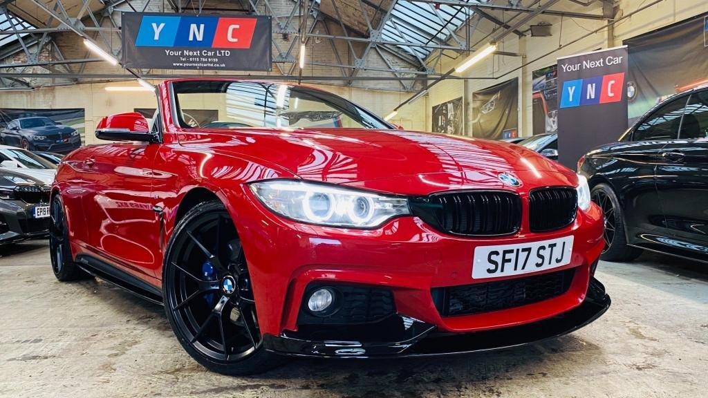 USED 2017 17 BMW 4 SERIES 2.0 420d M Sport Auto 2dr PERFORMANCEKIT+M&COMFORTPACK