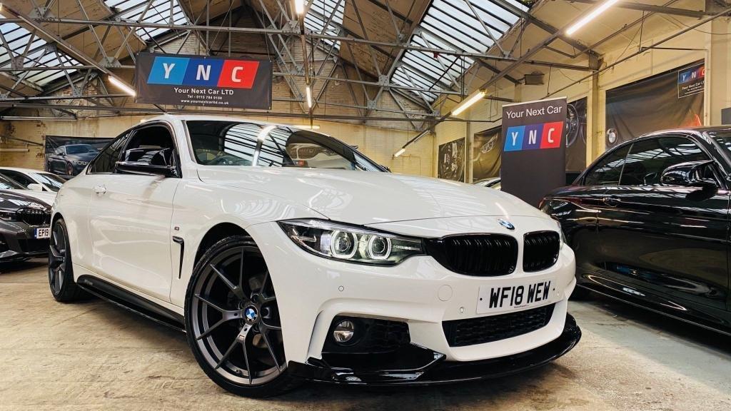 USED 2018 18 BMW 4 SERIES 2.0 420d M Sport Auto (s/s) 2dr PERFORMANCEKIT+20S+FACELIFT