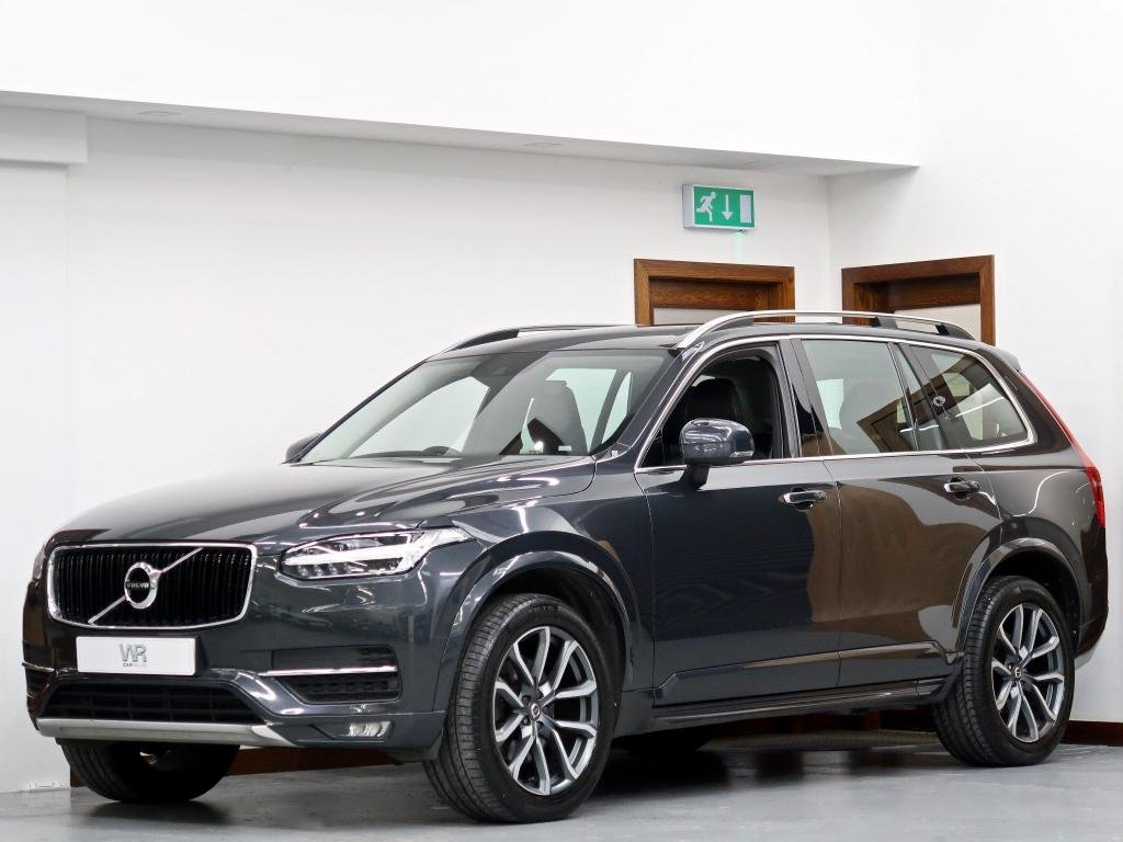 USED 2015 15 VOLVO XC90 2.0 D5 Momentum Geartronic 4WD (s/s) 5dr F/VOLVO S/H + KEYLESS + H/LTHR