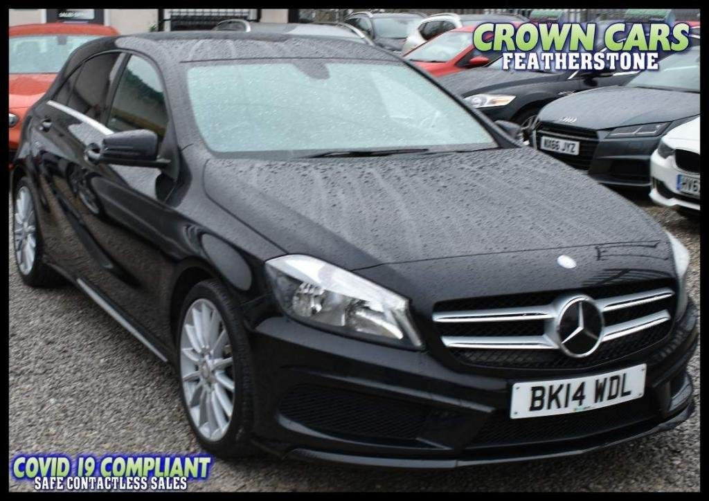 USED 2014 14 MERCEDES-BENZ A-CLASS 1.5 A180 CDI AMG Sport 5dr EASY CREDIT FINANCE CHECKER