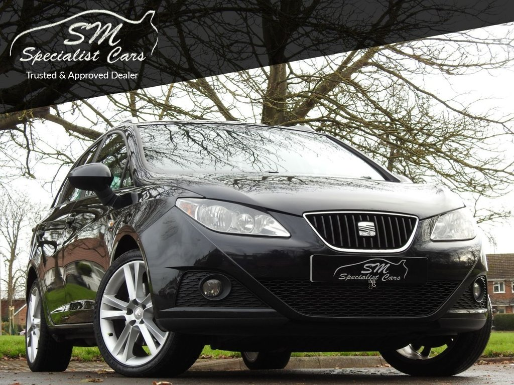 USED 2011 11 SEAT IBIZA 1.6 CR TDI SPORTRIDER 5d 103 BHP LOW MILES OVER 50 MPG A/C VGC