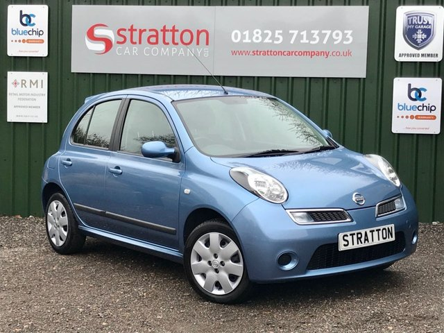 USED 2007 57 NISSAN MICRA 1.2 ACENTA 5d 80 BHP ONLY 39375 MILES
