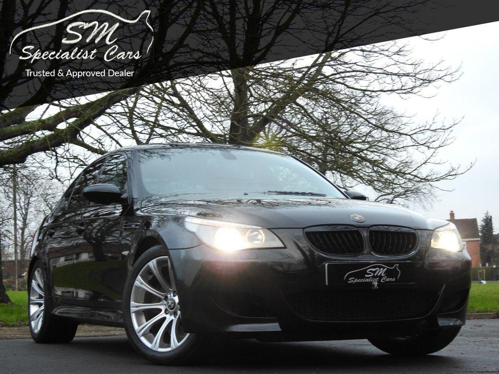 USED 2005 55 BMW M5 5.0 M5 4d 501 BHP HUGE SPEC ONLY 65K BMWSH 500 BHP