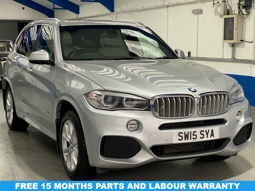 USED 2015 15 BMW X5 3.0 XDRIVE40D M SPORT 5d 309 BHP *FULL HISTORY--PANORAMIC ROOF*