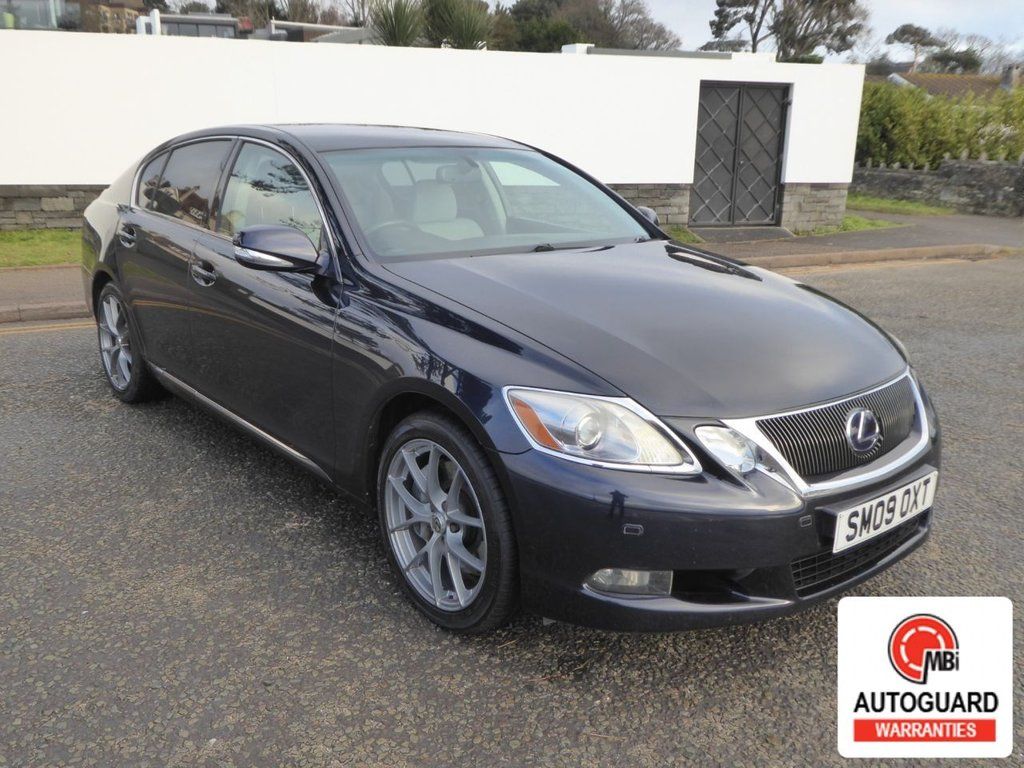 USED 2009 09 LEXUS GS 3.5 450H SE 4d 345 BHP STUNNING CAR WITH FULL HISTORY