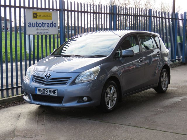 USED 2009 09 TOYOTA VERSO 1.8 TR VALVEMATIC 5d 145 BHP 7 Seater,Air Conditioning,History
