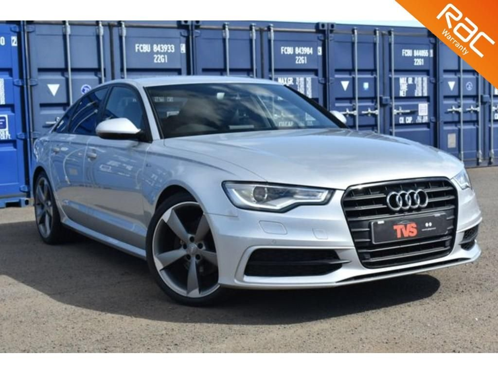 USED 2013 63 AUDI A6 2.0 TDI BLACK EDITION 4d 175 BHP