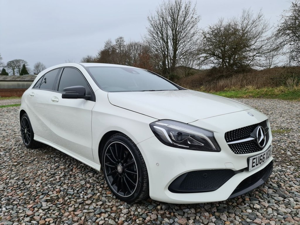 USED 2016 66 MERCEDES-BENZ A-CLASS 2.1 A 200 D AMG LINE PREMIUM 5d 134 BHP Free Next Day Nationwide Delivery